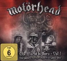 MOTÖRHEAD - THE WÖRLD IS OURS VOL. 1  (+ 2 CDS)
