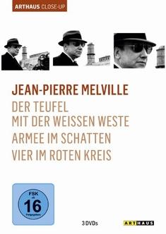 JEAN-PIERRE MELVILLE - ARTHAUS CLOSE-UP [3 DVDS] - Jean-Pierre Melville