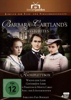 BARBARA CARTLAND`S FAVORITES  [4 DVDS]