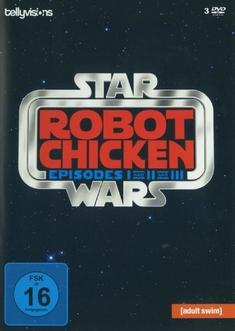 ROBOT CHICKEN STAR WARS - EP. 1-3  [3 DVDS] - Seth Green
