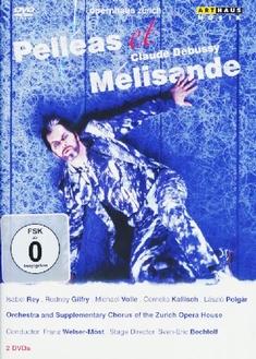 CLAUDE DEBUSSY - PELLEAS ET MELISANDE  [2 DVDS] - Felix Breisach