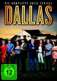 DALLAS (2012) - STAFFEL 1  [3 DVDS] - Michael M. Robin, Steve Robin