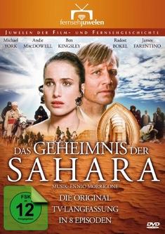 DAS GEHEIMNIS DER SAHARA - LANGFASSUNG  [2 DVDS] - Alberto Negrin
