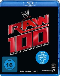 RAW 100 - THE TOP 100 MOMENTS  [2 BRS]