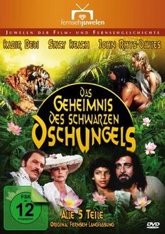 DAS GEHEIMNIS DES SCHWARZEN../EP. 1-5  [2 DVDS] - Kevin Connor