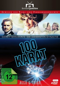 100 KARAT - DIE DIAMANTEN-DYNASTIE  [4 DVDS) - Kevin Connor, Harvey Hart, Sydney Sheldon