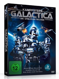 KAMPFSTERN GALACTICA - SPIELFILM TR...  [3 DVDS] - Christian J.,II Nyby, Vince Edwards, Richard A. Colla
