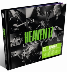 HEAVEN 17 - LIVE FROM THE METROPOLIS...  (+ CD)