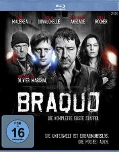 BRAQUO - STAFFEL 1  [2 BRS] - Olivier Marchal, Frederic Schoendoerffer, Philippe Haim, Eric Valette