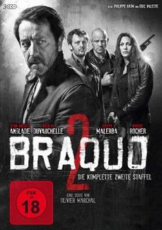BRAQUO - STAFFEL 2  [3 DVDS] - Olivier Marchal, Frederic Schoendoerffer, Philippe Haim, Eric Valette