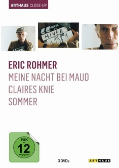 ERIC ROHMER - ARTHAUS CLOSE-UP  [3 DVDS] - Eric Rohmer