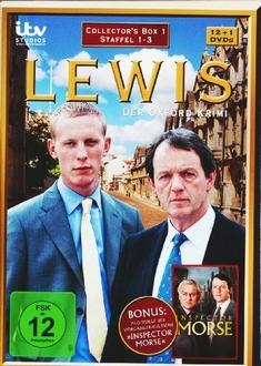 LEWIS - DER OXFORD KRIMI - STAFFEL 1-3  [13 DVD] - Bill Anderson