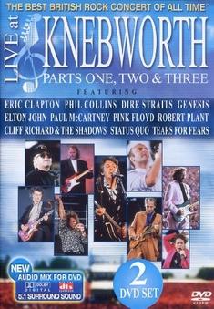 KNEBWORTH - LIVE AT KNEBWORTH/PARTS 1-3 [2 DVDS] - Larry Jordan, Bruce Gowers