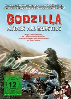 GODZILLA - ATTACK ALL MONSTERS - Inoshiro Honda