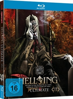 HELLSING - ULTIMATE OVA VOL.2 - RE-CUT/MEDIABOOK - Tomokazu Tokoro