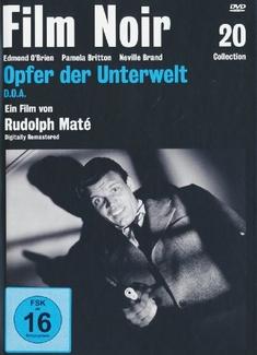 OPFER DER UNTERWELT  (OMU) - FILM NOIR COLL. 20 - Rudolph Mate