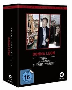 DONNA LEON - COLLECTION (FILME 1-20)  [10 DVDS] - Sigi Rothemund, Christian von Castelberg