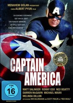 CAPTAIN AMERICA - REMASTERED/UNCUT - Jim McMahon, Albert Pyun