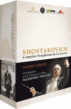 SHOSTAKOVICH - COM. SYMPHONIES & CONCERTOS[8DVD] - Reiner E. Moritz