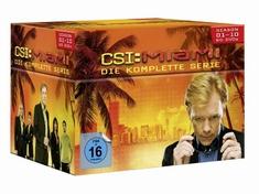 CSI: MIAMI - SEASON 1-10/KOMPLETTBOX  [60 DVDS]