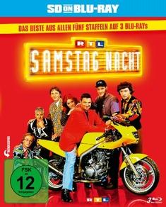 RTL SAMSTAG NACHT - DAS BESTE AUS...  [3 BRS] - Jacky Dreksler, Hugo Egon Balder