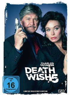 DEATH WISH 5 - THE FACE OF DEATH  [LCE] (+ DVD) - Allan A. Goldstein