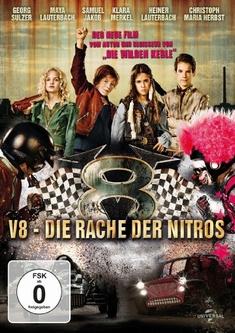 V8 - DIE RACHE DER NITROS - Joachim Masannek
