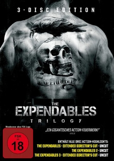 THE EXPENDABLES TRILOGY  [3 DVDS] - Richard Wenk, Sylvester Stallone, Simon West, Patrick Hughes
