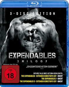 THE EXPENDABLES TRILOGY  [3 BRS] - Richard Wenk, Sylvester Stallone, Simon West, Patrick Hughes