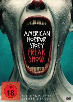 AMERICAN HORROR STORY - SEASON 4  [4 DVDS] - David Semel, Ryan Murphy, Bradley Buecker, Alfonso Gomez-Rejon