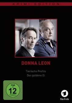 DONNA LEON: TIERISCHEPROFITE/DAS GOLDENE EI - Sigi Rothemund