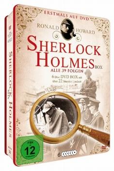 SHERLOCK HOLMES - DELUXE BOX ED.  [6 DVDS] - Steve Previn, Douglas Hickox, Desmond Davis, Rachel Goldenberg