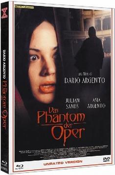 DAS PHANTOM DER OPER - MEDIABOOK  (+ DVD) [LE] - Dario Argento