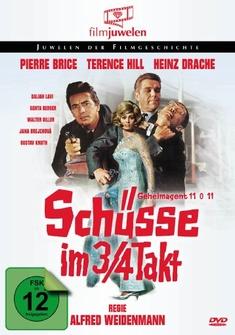 SCHÜSSE IM 3/4 TAKT - FILMJUWELEN - Alfred Weidenmann