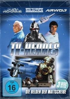 TV HEROES - DIE HELDEN DER MATTSCHEIBE  [3 DVDS]