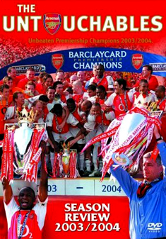 ARSENAL-UNTOUCHABLES 2003/04 (DVD)