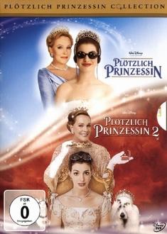 PLÖTZLICH PRINZESSIN 1+2  [2 DVDS] - Garry Marshall