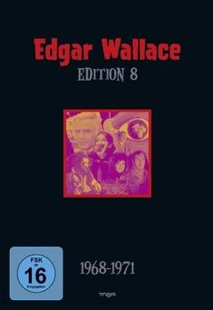 EDGAR WALLACE EDITION 8  [5 DVDS] - Edgar (Buch) Wallace
