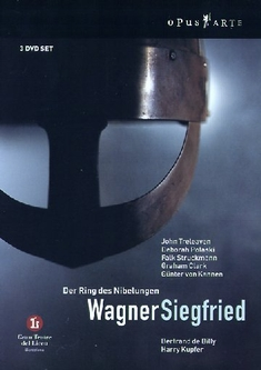 RICHARD WAGNER - SIEGFRIED  [3 DVDS] - Toni Bargallo