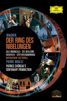 RICHARD WAGNER - DER RING DES NIBEL...  [8 DVDS]
