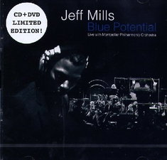 JEFF MILLS - BLUE POTENTIAL/LIVE...  [LE]  (+CD) - Mathieu Charter
