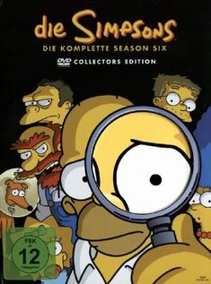 DIE SIMPSONS - SEASON 06  [CE] [4 DVDS] (DIGIP.)