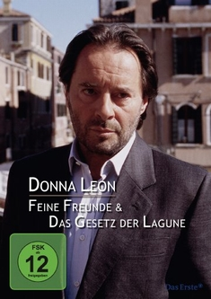 DONNA LEON: FEINE FREUNDE/DAS GESETZ DER LAGUNE - Sigi Rothemund