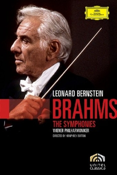 LEONARD BERNSTEIN - BRAHMS: THE SYMPHONIES - Humphrey Burton - 68461-leonard-bernstein-brahms-the-symphonies