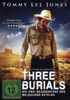 THREE BURIALS - Tommy Lee Jones