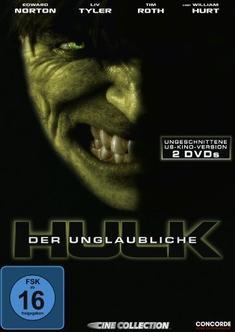 DER UNGLAUBLICHE HULK  [SE]  [2 DVDS] - Louis Leterrier