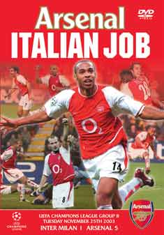 ARSENAL-ITALIAN JOB 5 -1      (DVD)