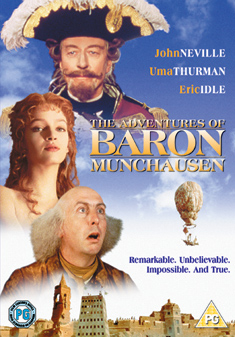 ADVENTURES OF BARON MUNCHAUSEN (DVD) - Terry Gilliam