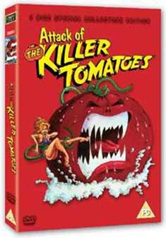 ATTACK OF THE KILLER TOMATOES (DVD) - John De Bello