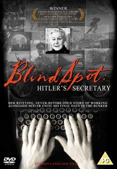 BLIND SPOT-HITLER'S SECRETARY (DVD) - Andre Heller
